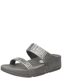 Sandalias en gris oscuro de FitFlop