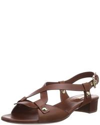 Sandalias en marrón oscuro de Casadei