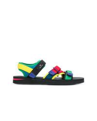 Sandalias en multicolor