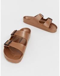 Sandalias marrón claro de Birkenstock