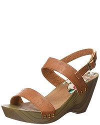 Sandalias marrón claro de Coolway