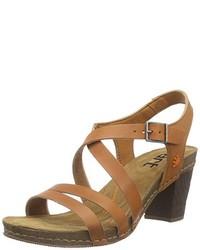 Sandalias marrón claro de The Art Company