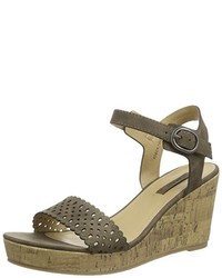 Sandalias marrónes de Esprit