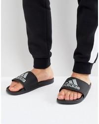 Sandalias negras de adidas
