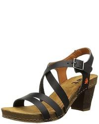 Sandalias negras de Art