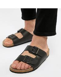 Sandalias negras de ASOS DESIGN