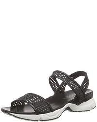 Sandalias negras de Casadei