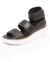 Sandalias negras de DKNY