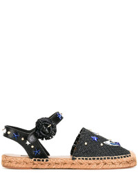 Sandalias negras de Dolce & Gabbana