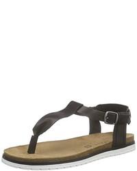 Sandalias negras de Esprit
