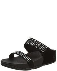 Sandalias negras de FitFlop