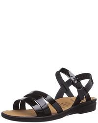 Sandalias negras de Ganter