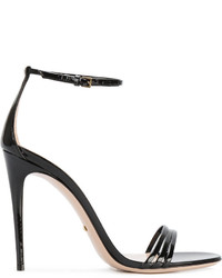 Sandalias negras de Gucci