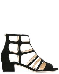 Sandalias negras de Jimmy Choo