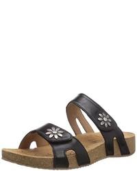 Sandalias negras de Josef Seibel