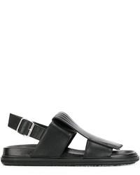 Sandalias negras de Marni