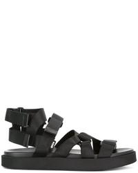 Sandalias negras de MSGM
