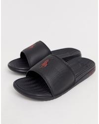 Sandalias negras de Polo Ralph Lauren