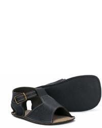 Sandalias negras de Pépé