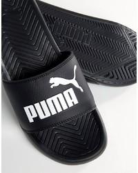 Sandalias negras de Puma