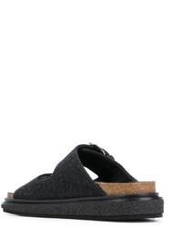 Sandalias planas negras de Isabel Marant