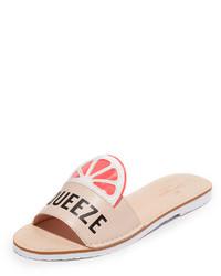 Sandalias planas rosadas de Kate Spade