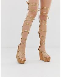 Bibliografía guardarropa una vez  Cómo combinar unas sandalias romanas altas (68 outfits) | Lookastic España
