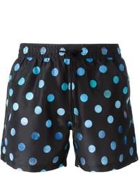 Shorts de baño a Lunares Negros de Paul Smith