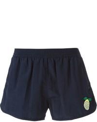 Shorts de baño azul marino de AMI Alexandre Mattiussi
