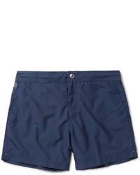 Shorts de baño azul marino de Brunello Cucinelli