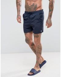 Shorts de baño azul marino de French Connection