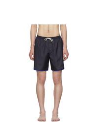 Shorts de baño azul marino de Gucci