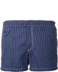 Shorts de baño azul marino de MC2 Saint Barth