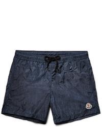 Shorts de baño azul marino de Moncler