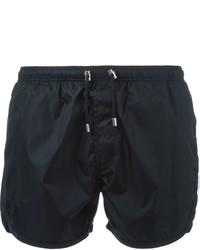 Shorts de baño azul marino de Neil Barrett