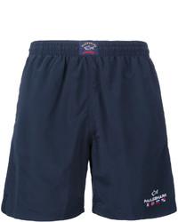 Shorts de baño azul marino de Paul & Shark