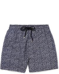 Shorts de baño azules