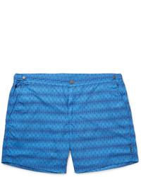 Shorts de baño azules de Hugo Boss