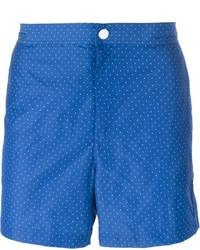Shorts de baño azules de Michael Kors