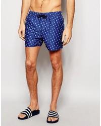 Shorts de baño azules de NATIVE YOUTH