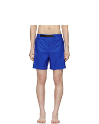 Shorts de baño azules de Prada