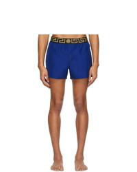 Shorts de baño azules de Versace Underwear