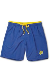 Shorts de baño azules de Vilebrequin