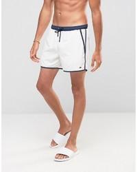 Shorts de baño blancos de Hugo Boss