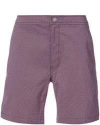 Shorts de baño burdeos de Onia