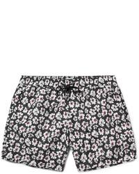 Shorts de baño con print de flores Negros de Paul Smith