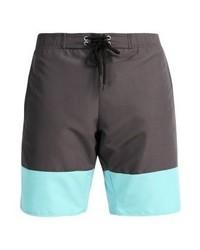 Shorts de baño en Gris Oscuro de Pier One