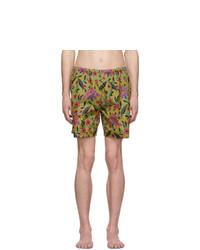 Shorts de baño en multicolor de Prada