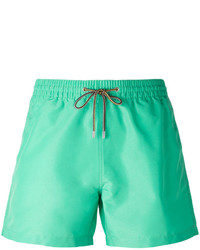 Shorts de baño en verde menta de Paul Smith