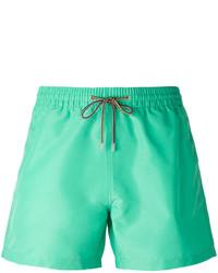 Shorts de baño en Verde Menta de Paul Smith